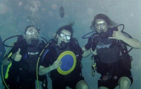 Three amigos - Arthur, Cassandra, & Tyler